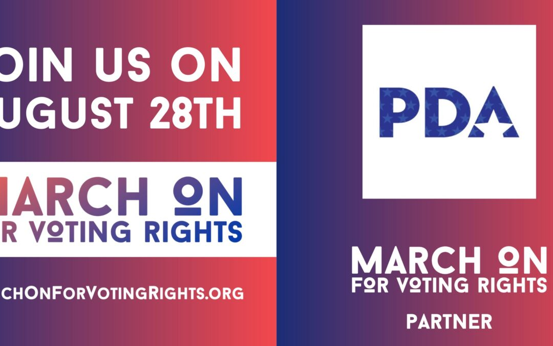 SATURDAY: Join a voting rights rally or march near you.